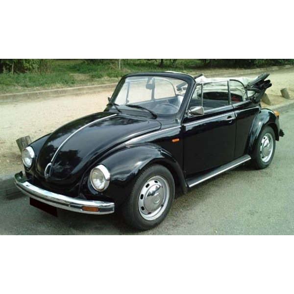 location auto retro collection volkswagen coccinelle cabriolet noir 1978. Black Bedroom Furniture Sets. Home Design Ideas