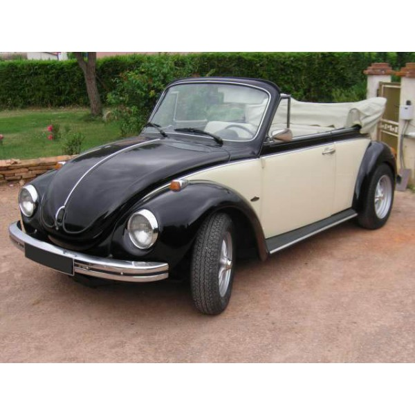 location auto retro collection volkswagen coccinelle cabriolet 1973. Black Bedroom Furniture Sets. Home Design Ideas