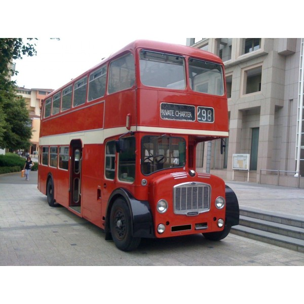 location auto retro collection bus anglais doubledeck bristol 1966. Black Bedroom Furniture Sets. Home Design Ideas