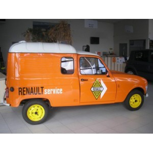 location auto retro collection renault 4l fourgonnette 1965. Black Bedroom Furniture Sets. Home Design Ideas