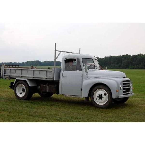 location auto retro collection citroen u23 camion plateau 1964. Black Bedroom Furniture Sets. Home Design Ideas