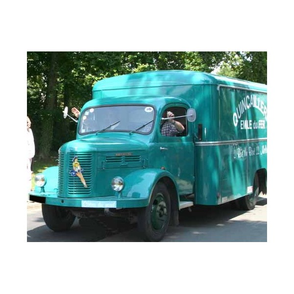location auto retro collection hotchkiss pl 50 camion magasin 1958. Black Bedroom Furniture Sets. Home Design Ideas