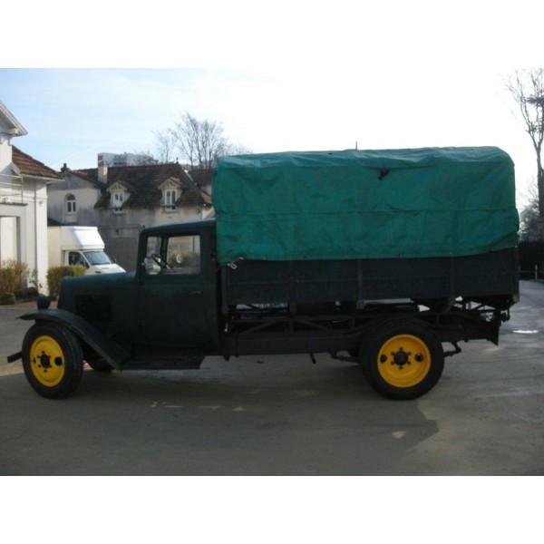 location auto retro collection citroen u23 camion plateau 1934. Black Bedroom Furniture Sets. Home Design Ideas