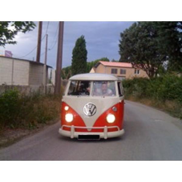 Location auto retro collection - volkswagen combi split 1967