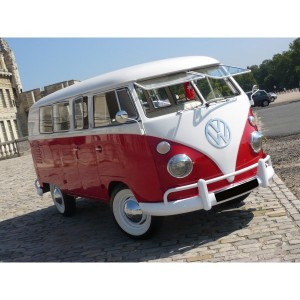 location auto retro collection volkswagen combi split 1962. Black Bedroom Furniture Sets. Home Design Ideas