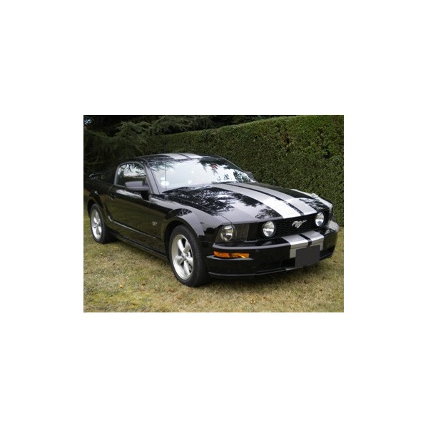 location auto retro collection ford mustang coup noir 2005. Black Bedroom Furniture Sets. Home Design Ideas