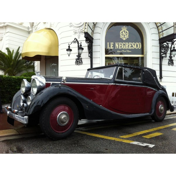 location auto retro collection bentley cabriolet milord 1934. Black Bedroom Furniture Sets. Home Design Ideas