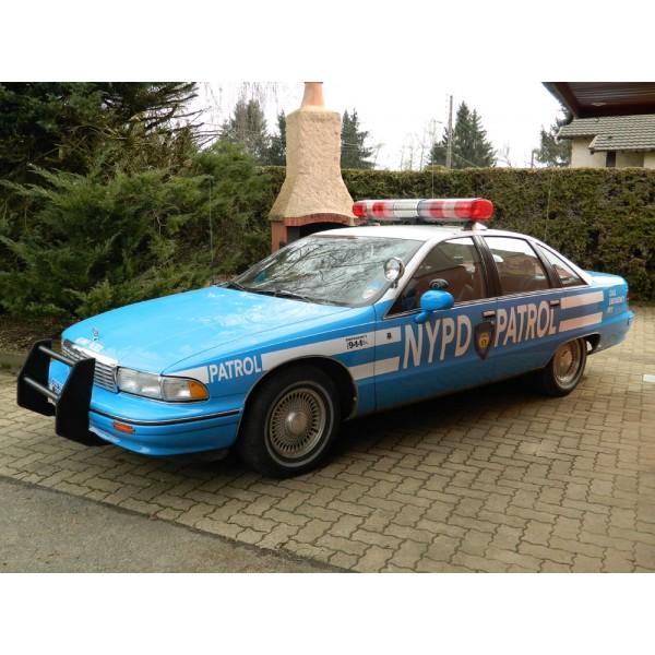 location auto retro collection voiture de la police de new york chevrolet caprice 1991. Black Bedroom Furniture Sets. Home Design Ideas