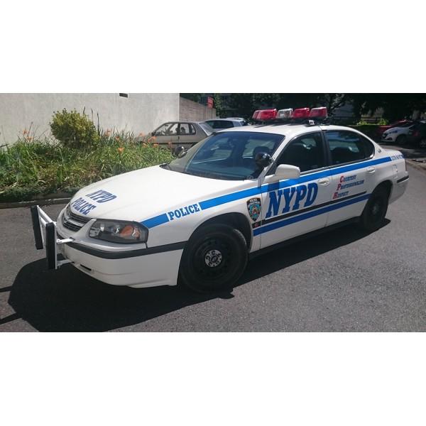 location auto retro collection voiture de la police de new york chevrolet impala. Black Bedroom Furniture Sets. Home Design Ideas