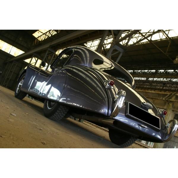 location auto retro collection jaguar xk 120 coup 1952. Black Bedroom Furniture Sets. Home Design Ideas