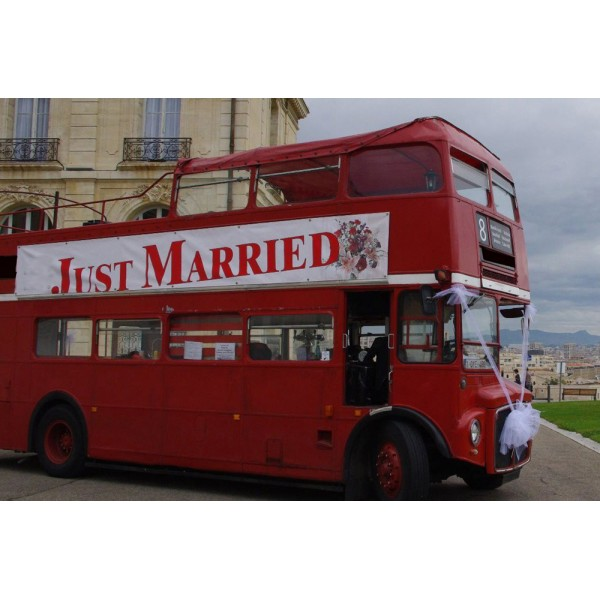 Bus Anglais Leyland Routemaster