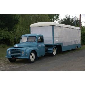 location auto retro collection camion magasin citroen u23 1960. Black Bedroom Furniture Sets. Home Design Ideas