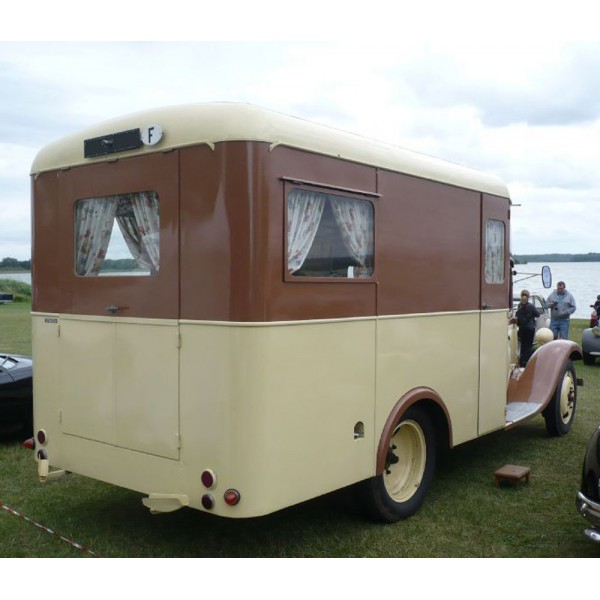 location auto retro collection citroen t23 camping car de 1938. Black Bedroom Furniture Sets. Home Design Ideas