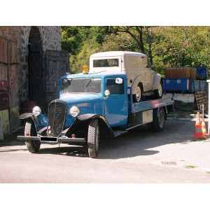 location auto retro collection citroen u 23 plateau porte voiture de 1938. Black Bedroom Furniture Sets. Home Design Ideas