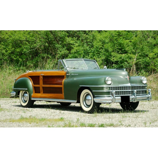 location auto retro collection chrysler town and country cabriolet de 1948. Black Bedroom Furniture Sets. Home Design Ideas