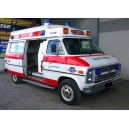 ambulance chevrolet G30 de 1985