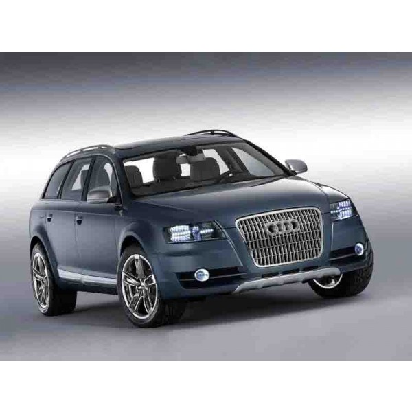 location auto retro collection audi q7 noir 2006. Black Bedroom Furniture Sets. Home Design Ideas