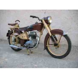 location auto retro collection moto 125 cm3 1956. Black Bedroom Furniture Sets. Home Design Ideas