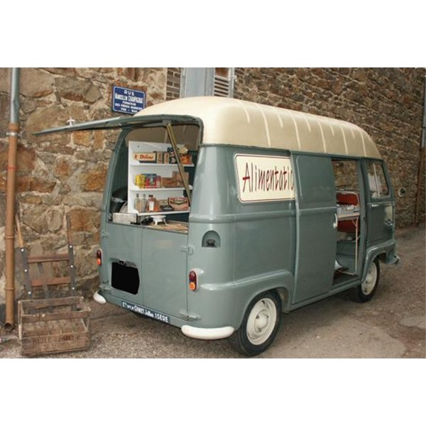 location auto retro collection renault estafette picerie 1961. Black Bedroom Furniture Sets. Home Design Ideas